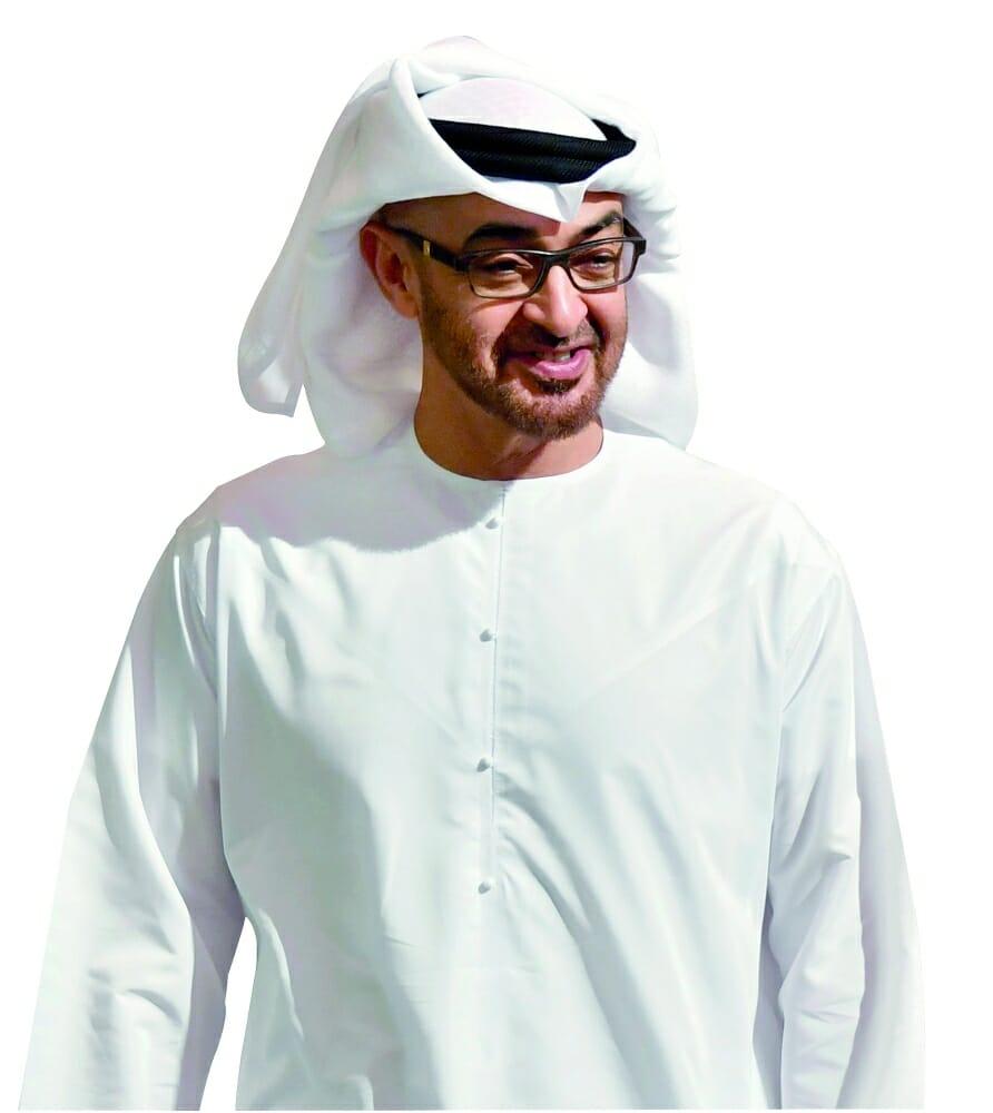 محمد بن زايد يطمئن على صحة حمد مبارك الخييلي - دوت امارات