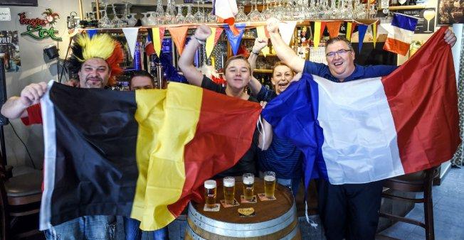 """فرحة فرنسية وخيبة بلجيكية في الصحافة العالمية إثر فوز """"الديوك"""" على """"الشياطين الحمر"""" - دوت امارات"""