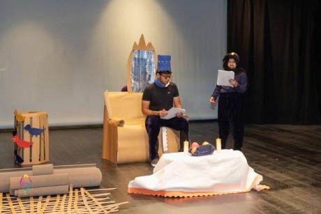 «ألف ليلة وليلة» تدمج المسرح بالتصميم والسرد القصصي
