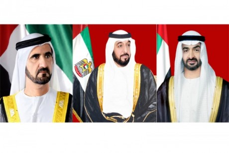 UAE leaders congratulate King of Belgium on national day