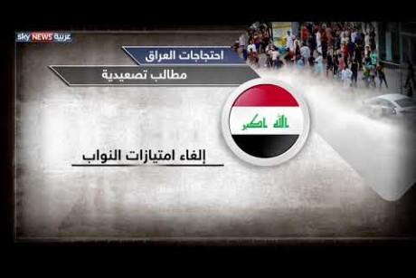 احتجاجات العراق.. مطالب تصعيدية