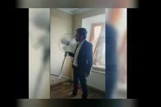 نائب روسي يوقف مروحة بلسانه