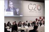 وزراء مجموعة العشرين يدعون إلى حوار أوسع بخصوص التوترات التجارية