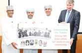 PDO boosts road safety drive with donation