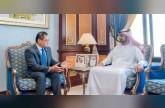 عمار النعيمي يبحث تعزيز العلاقات مع سنغافورة