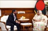 رئيسة وزراء بنغلاديش تستقبل سفير الدولة