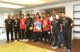 PDO team makes final at FIFCO football event