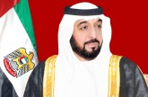 رئيس الدولة يستقبل حاكم عجمان بمقر إقامته في إيفيان.