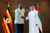 سمو الشيخ عبدالله بن زايد يستقبل وزير الدولة للشؤون الخارجية الأوغندي.
