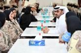 استعراض مراحل التدريب والتأهيل في مدرسة خولة بنت الأزور العسكرية
