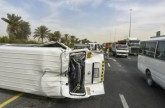 تزايد المطالبات بحظر الحافلات الصغيرة في الإمارات