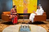 عبدالله بن زايد يتسلم عضوية الدولة كمراقب في تحالف المحيط الهادي