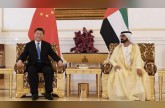 Sheikh Mohammed tweets several messages in Chinese