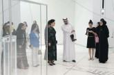 حرم الرئيس الصيني تزور متحف اللوفر أبوظبي