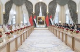 His Highness Sheikh Mohammed bin Rashid, His Highness Sheikh Mohamed bin Zayed discuss strategic ties with President Xi.