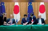 اتفاق تجارة حرة تاريخي بين اليابان وأوروبا وسط عواصف الحمائية
