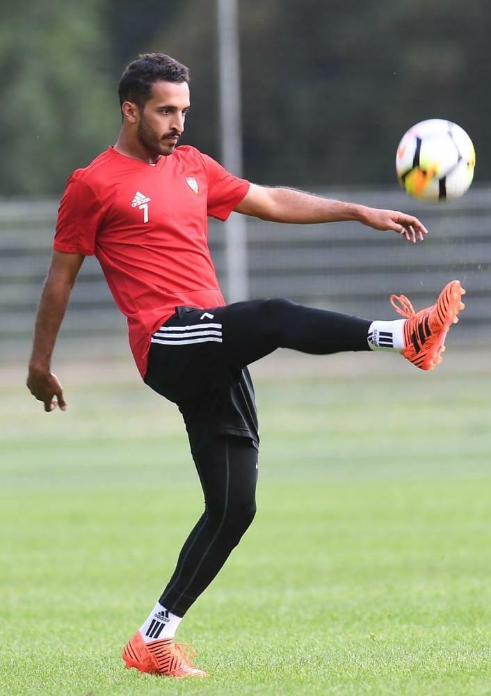 اتحاد الكرة يسمح لمبخوت بمغادرة معسكر الأبيض - دوت امارات