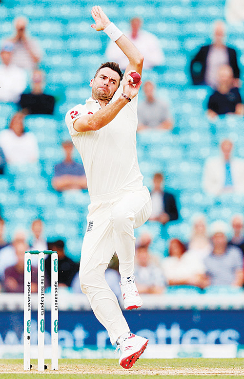 Record-breaker Anderson ends India resistance - Dotemirates