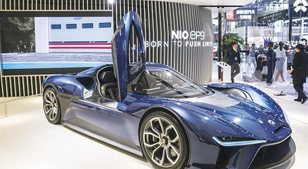 China's NIO tests investor appetite for electric cars - Dotemirates