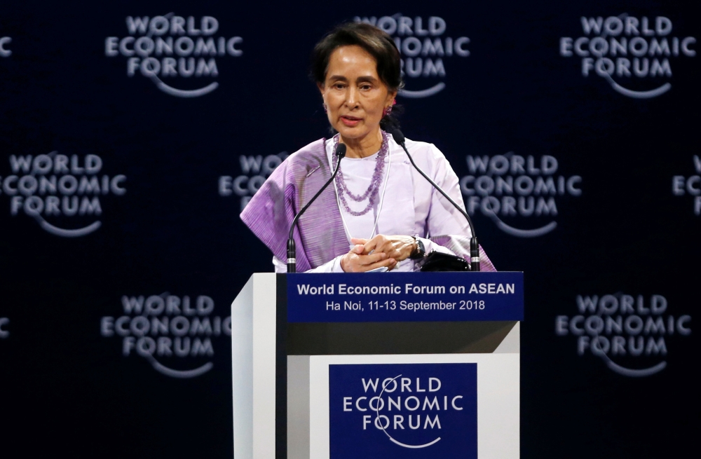 Under fire Suu Kyi won't attend UN General Assembly, reports media - Dotemirates