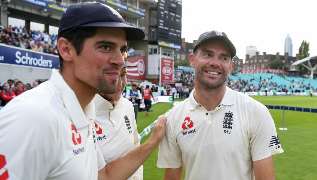 James Anderson preparing for England life without close friend Alastair Cook by his side - Dotemirates