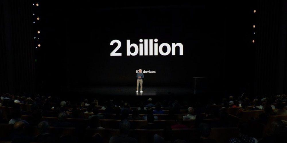 أبل على وشك شحن 2 مليار جهاز يعمل بنظام iOS - دوت امارات