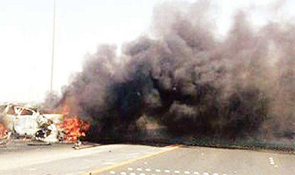 Kuwaiti hurt in 2-car crash - Dotemirates