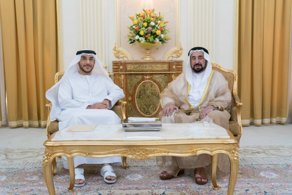Sharjah Ruler receives Sharjah City Municipality Director-General - Dotemirates