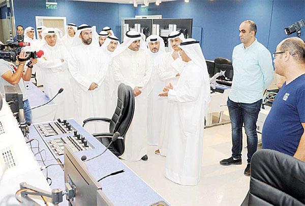 Info minister affirms new studio vital pillar in upgrading info media system - Dotemirates