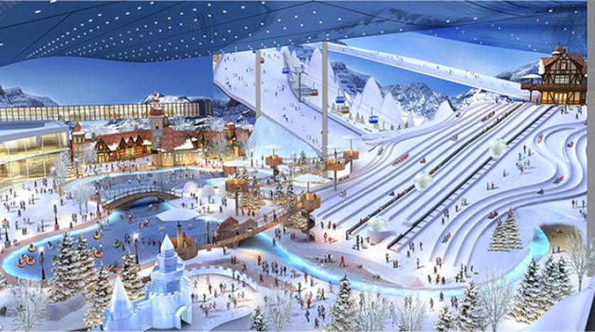 قريباً... أكبر منتجع للتزلج على مستوى العالم في الصين - دوت امارات