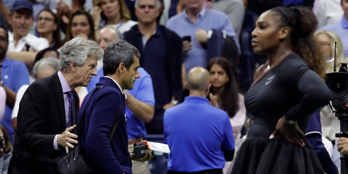Tennis umpires are reportedly considering a boycott of Serena Williams matches unless she apologises for calling Carlos Ramos a 'liar' and a 'thief' - Dotemirates