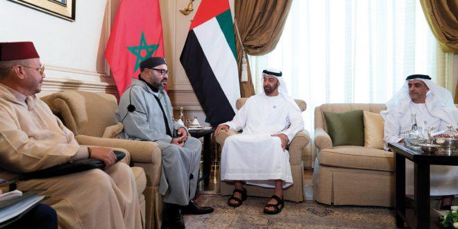 محمد بن زايد: الإمارات حريصة على توثيق علاقاتها مع المغرب - دوت امارات