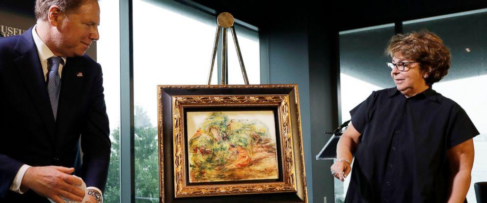 Jewish collector's descendant gets Nazi-looted Renoir back - Dotemirates