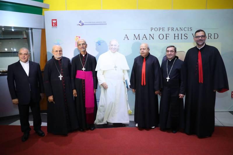 """إطلاق العرض الأول للفيلم الوثائقي """" Pope Francis - a man of his word"""" - دوت امارات"""