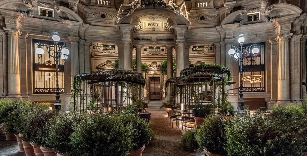 اليكم تقنية تحميص البن في مقهى ستاربكس في ميلانو - دوت امارات
