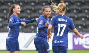 Chelsea cruise to 5-0 victory in Women's Champions League opener - Dotemirates