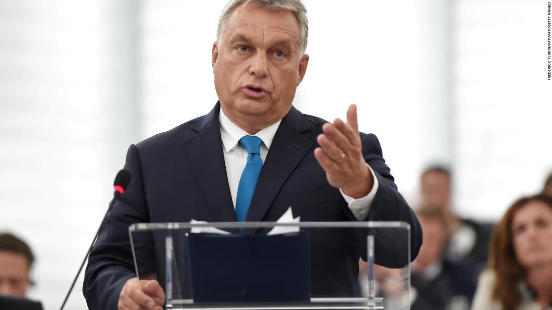 Hungary will not be blackmailed, Prime Minister Orban tells EU - Dotemirates