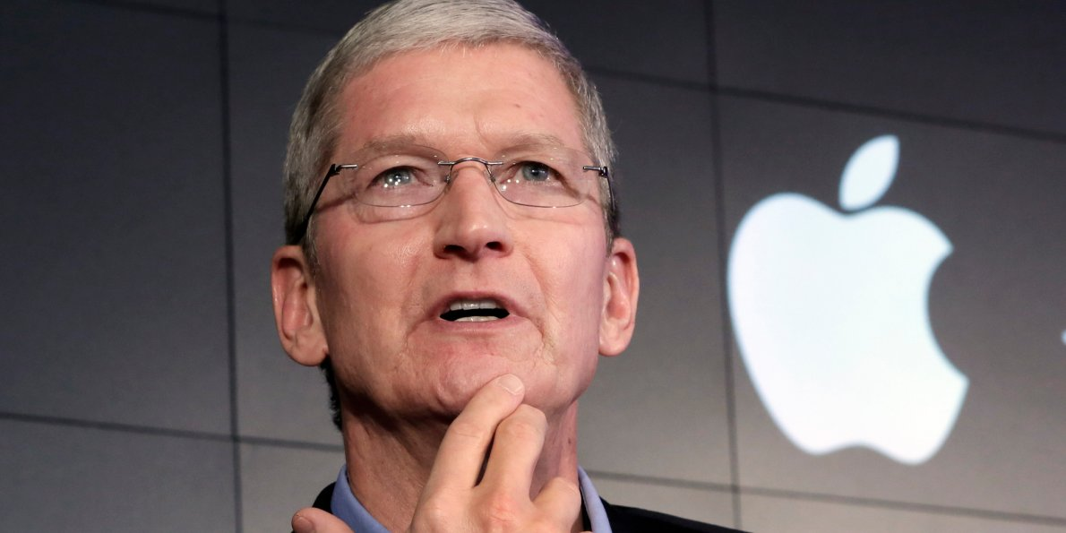 Minutes before the iPhone reveal, Apple CEO Tim Cook tweets that something is missing - Dotemirates