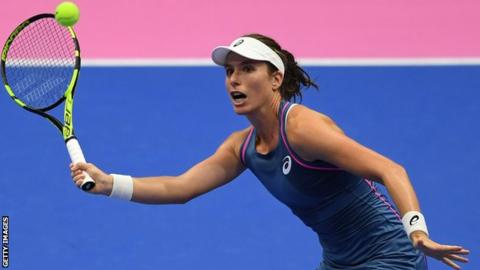 Pan Pacific Open: Johanna Konta knocked out by Donna Vekic - Dotemirates