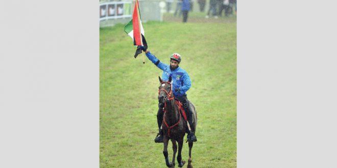 حمدان بن محمد يقود فرسان الإمارات في مونديال أميركا للقدرة - دوت امارات