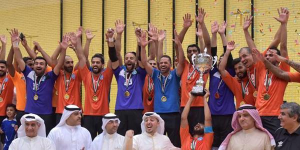 كاظمة بطلا لـسوبر الصالات على حساب الكويت - دوت امارات