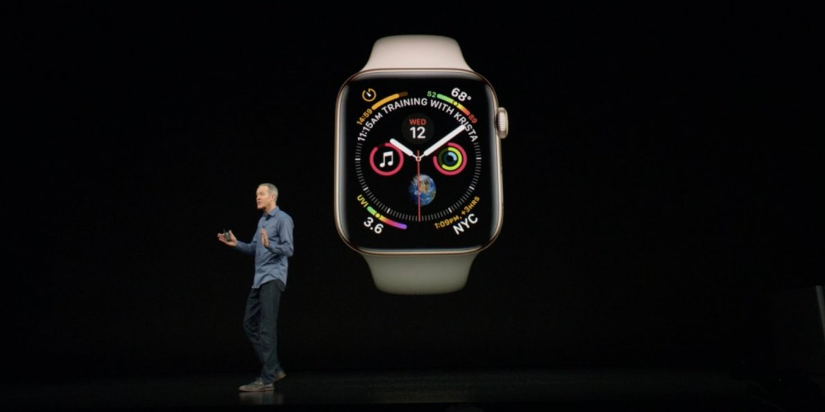 Apple just introduced a brand-new Apple Watch, the Apple Watch Series 4 - Dotemirates