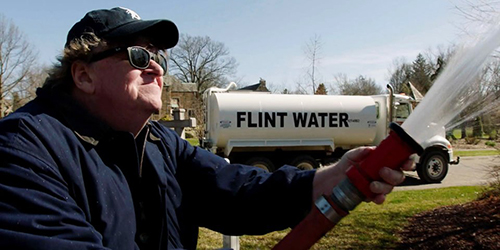 Michael Moore takes on Trump via – Flint, Michigan - Dotemirates