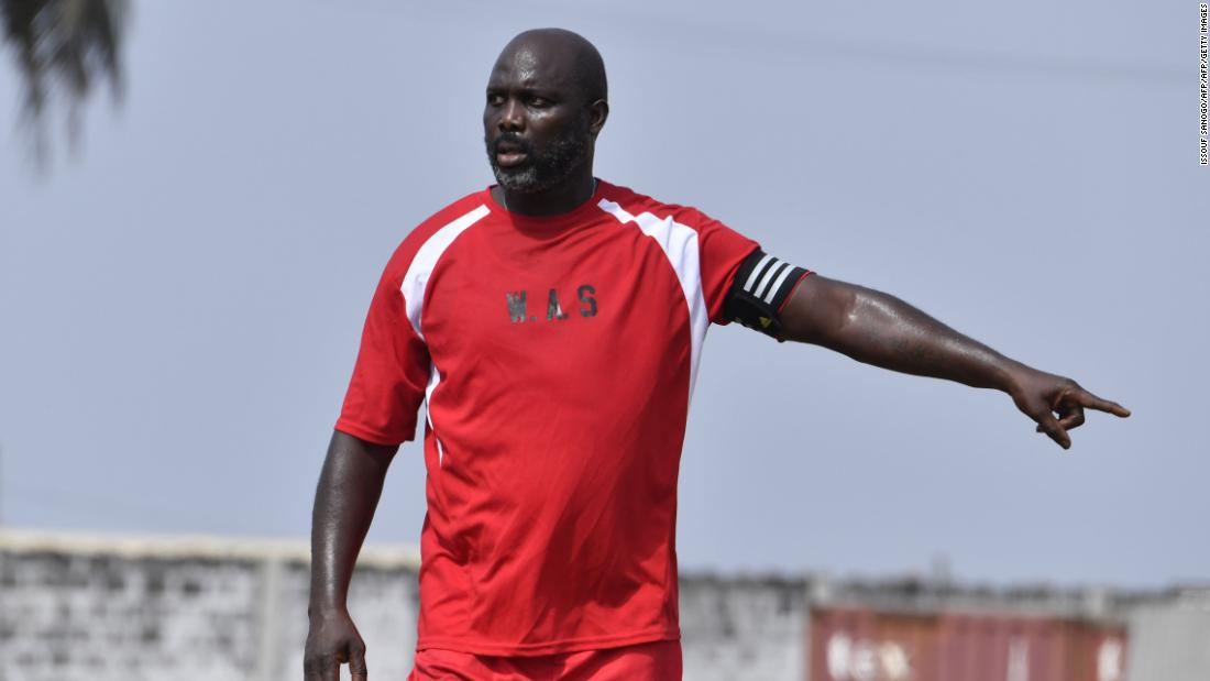 George Weah: Liberia president makes surprise return to national team - Dotemirates
