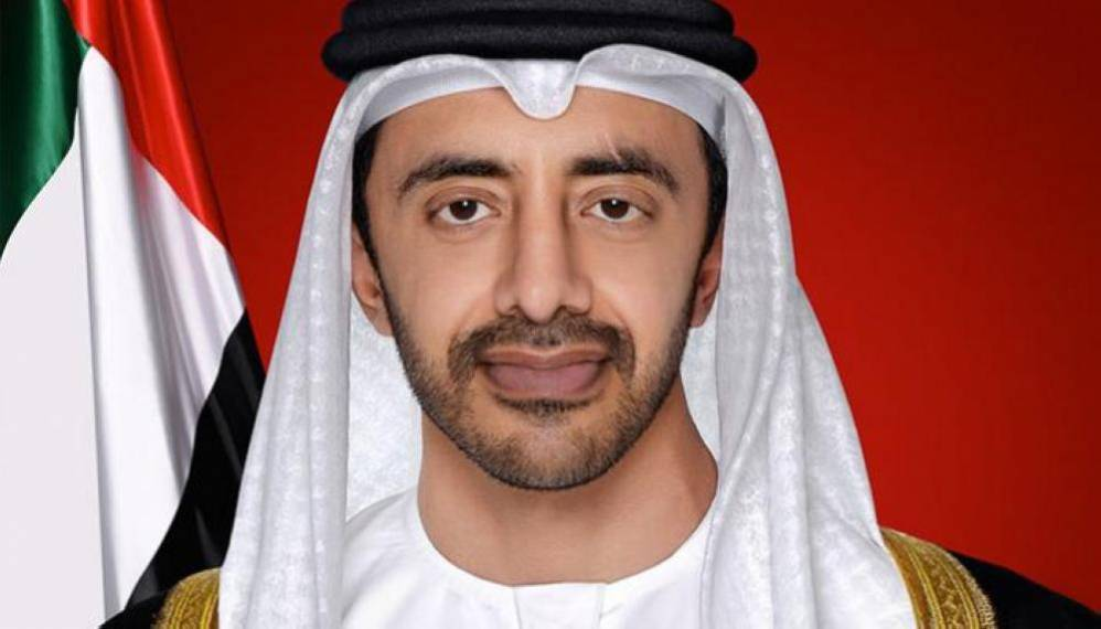 عبدالله بن زايد يستقبل وكيل الأمين العام لمكتب الأمم المتحدة لمكافحة الإرهاب - دوت امارات