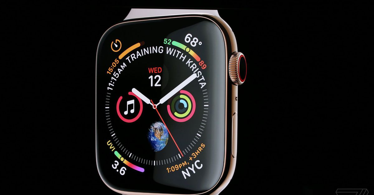Apple Watch Series 4 includes a bigger display and a built-in EKG scanner - Dotemirates