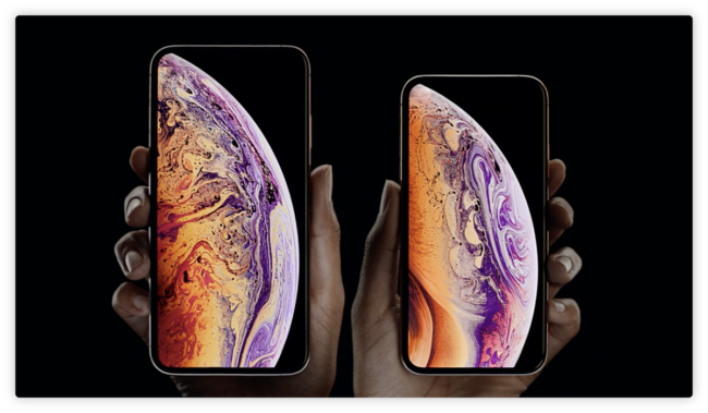 "شاهد بالصور | آبل تكشف عن هواتف آيفون الجديدة ""iphone xs"" و ""iphone xs max"" - دوت امارات"