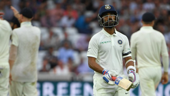 Ajinkya Rahane's woeful form under the spotlight after India's 4-1 series loss to England - Dotemirates