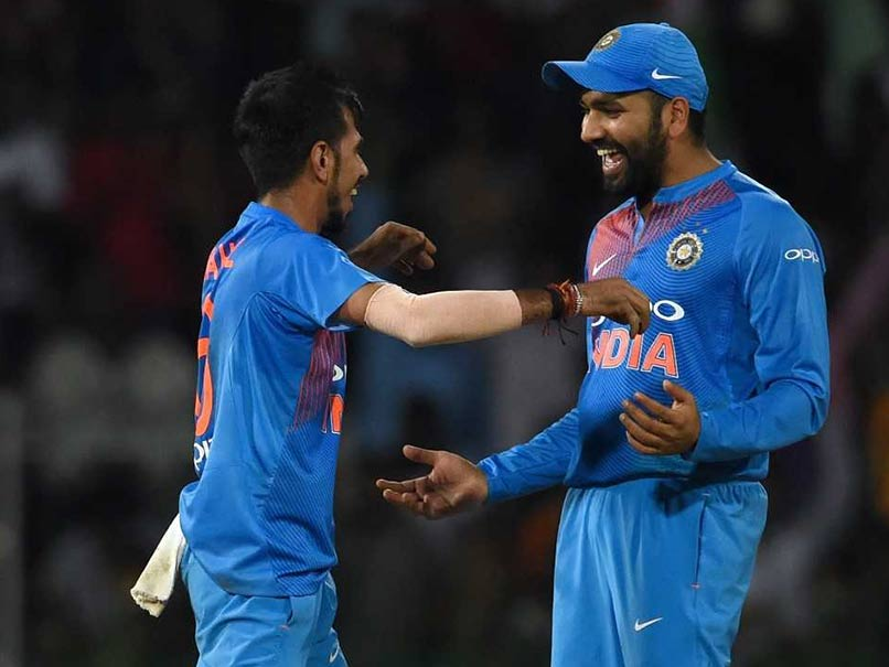 Asia Cup 2018: Rohit Sharma Gets Batting Advice From Yuzvendra Chahal - Dotemirates
