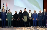 Minister of Community Development attends Malaysian National Day reception.